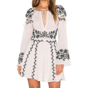 For Love & Lemons Niccola Mini Dress